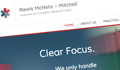 Rawls McNelis + Mitchell Website